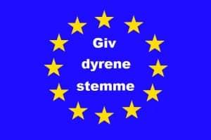EU - giv dyrene stemme nu