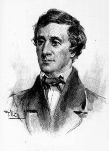 Henry David Thoreau år 1862.