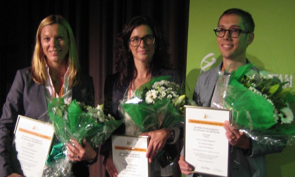 Christel Bergström, Maria Karlgren og Pär Matsson.