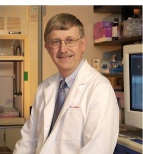 Francis S. Collins er en amerikansk læge og genetiker, som er kendt for sine opdagelser af sygdomsgener og for sin ledelse af Human Genome Project (HGP ). Han er direktør for den amerikanske Sundhedsstyrelse, National Institutes of Health (NIH ).